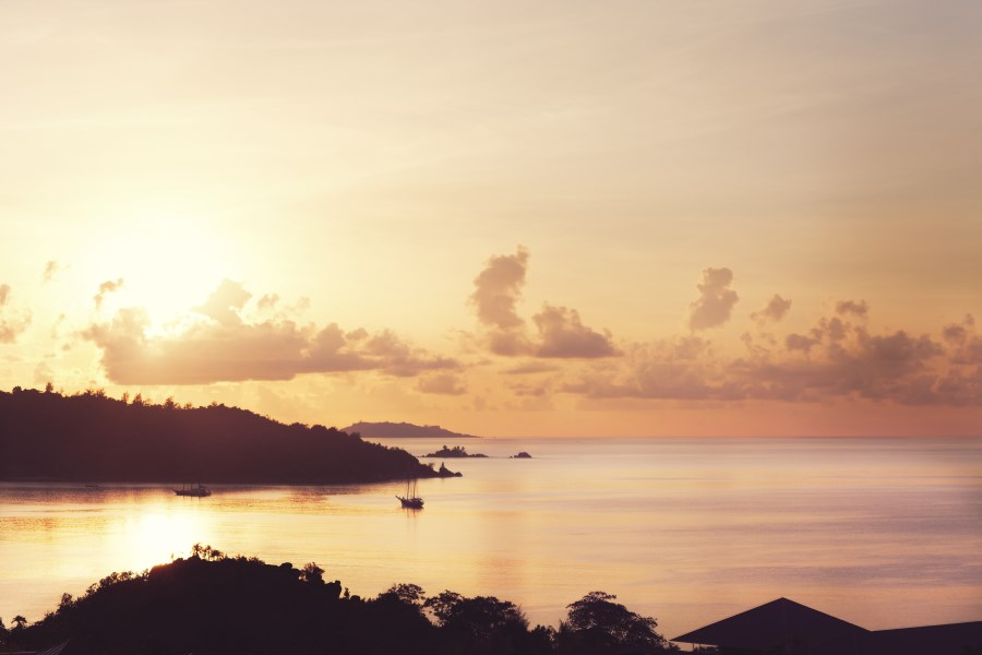 Raffles Praslin - Sunset view
