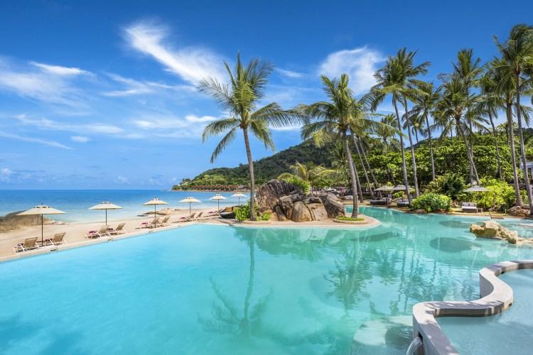 Sheraton Samui Resort - Beachfront Pool