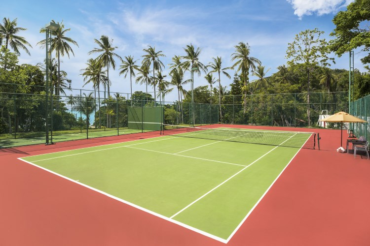 Sheraton Samui Resort - Le court de tennis