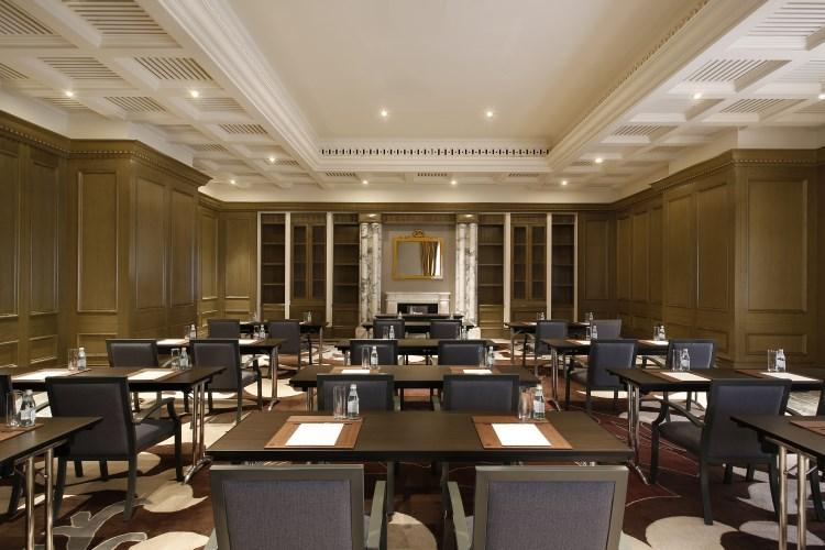 St Regis Dubai - Carnegie Meeting Room - Classroom Style