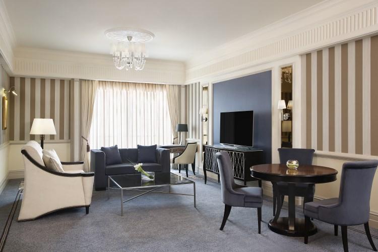 St Regis Dubai - Empire Suite - Living Room