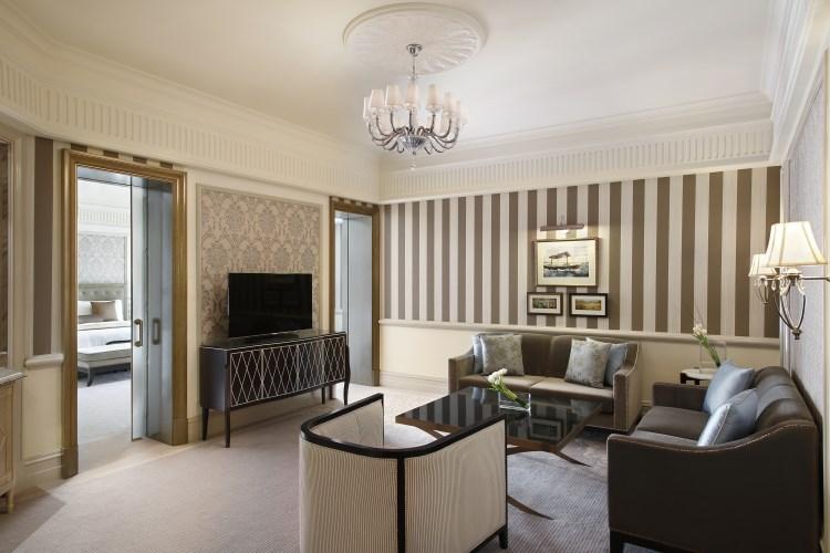 St Regis Dubai - Executive Suite - Living Room