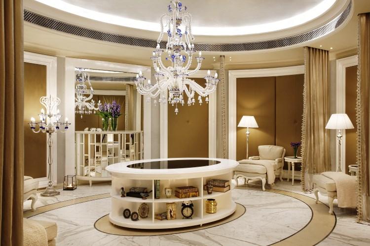 St Regis Dubai - Iridium Spa Relaxation Lounge