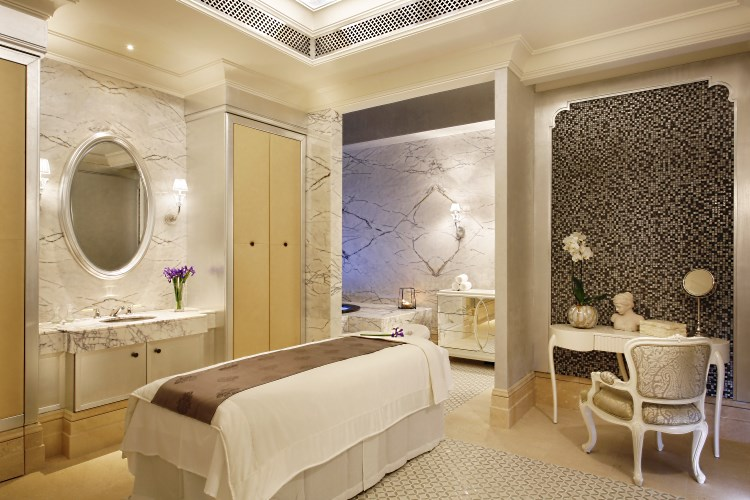 St Regis Dubai - Iridium Spa - Ladies Treatment Room