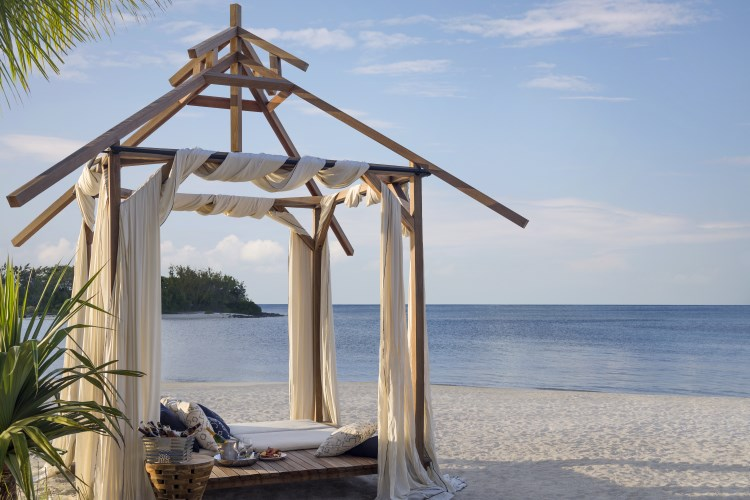 Shangri-La Île Maurice - Dîner sur la plage