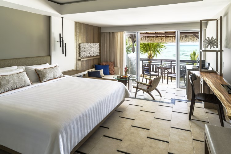 Shangri-La Mauritius - Deluxe Room with Ocean View - Coral Wing