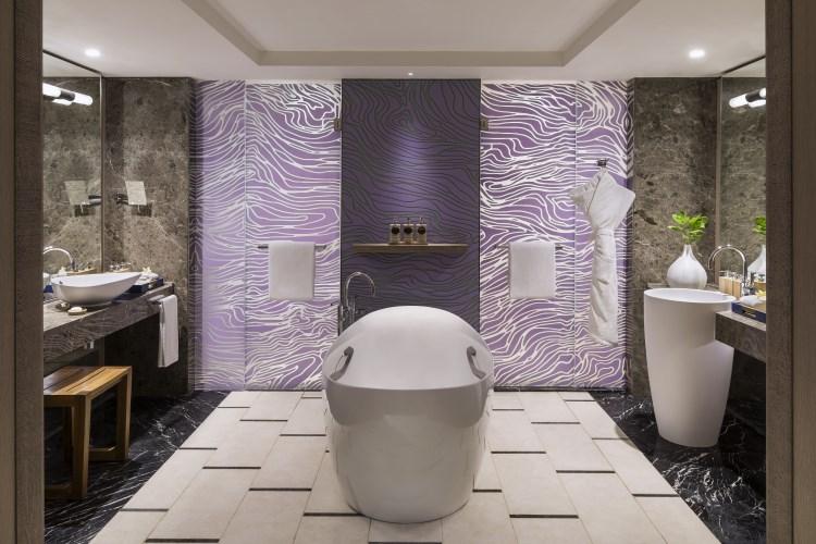 Shangri-La Île Maurice - Junior Suite vue Océan - Salle de bains - Aîle Frangipani