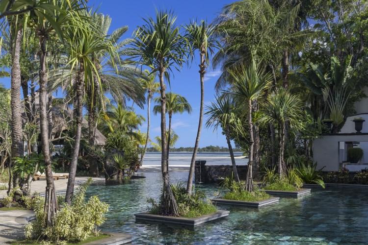 Shangri-La Île Maurice - La piscine de l'aîle Frangipani