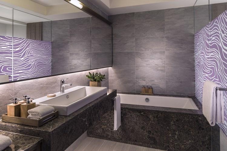 Shangri-La Île Maurice - Chambre Deluxe avec accès plage - Salle de bains - Aîle Hibiscus
