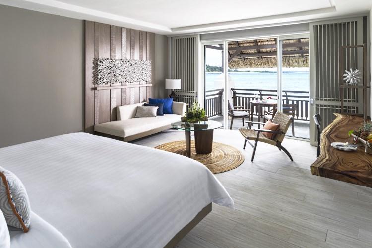 Shangri-La Île Maurice - Chambre Deluxe avec vue Océan - Aîle Hibiscus