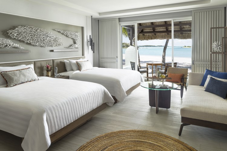 Shangri-La Mauritius - Deluxe Twin Room with Beach Access - Hibiscus Wing
