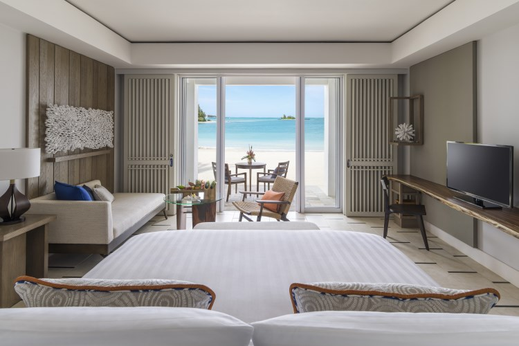 Shangri-La Mauritius - Junior Suite with Beach Access - Hibiscus Wing