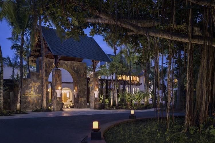 Shangri-La Île Maurice - Entrée de l'hôtel