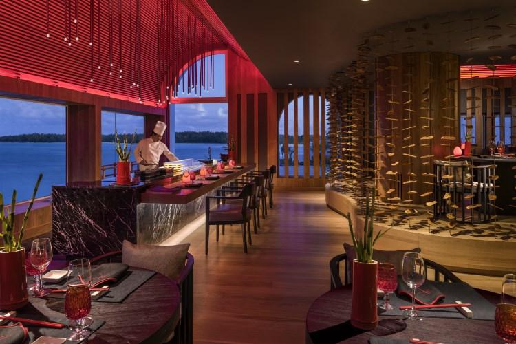 Shangri-La Mauritius - Kushi restaurant
