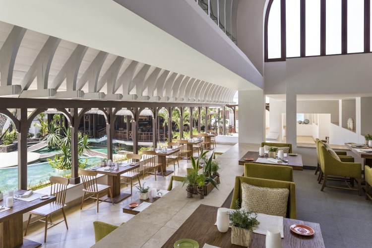 Shangri-La Mauritius - Le Bazaar Seating Area