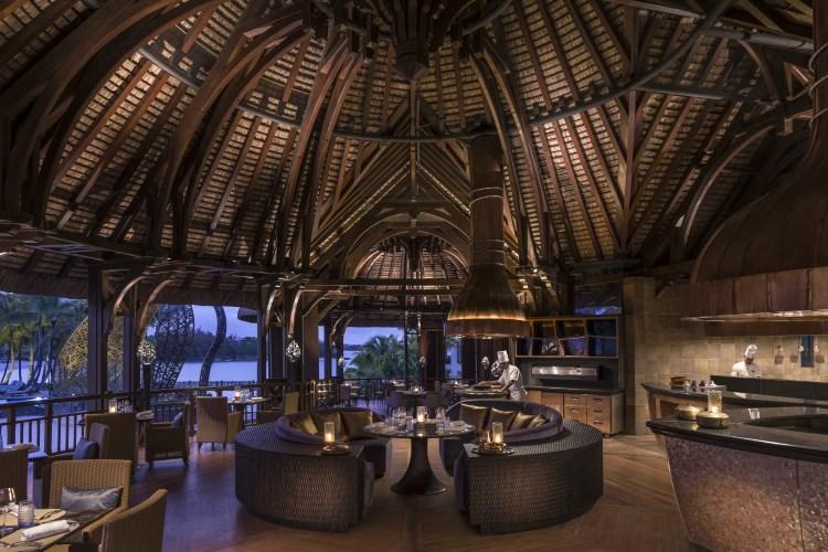 Shangri-La Île Maurice - L'intérieur du restaurant Safran