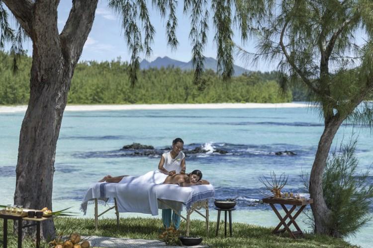 Shangri-La Île Maurice - Massage sur l'ilot Mangenie