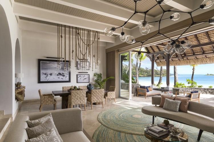 Shangri-La Île Maurice - Salon de la Suite Shangri-La