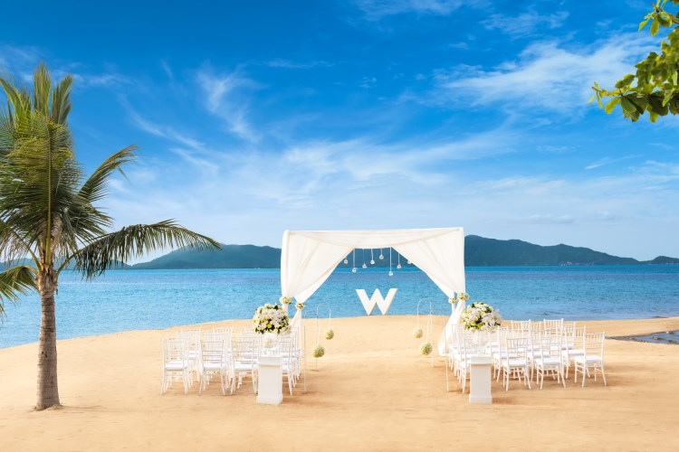 W Retreat Koh Samui - Beach Wedding