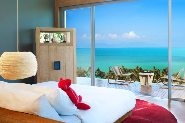 W Retreat Koh Samui - Ocean view room