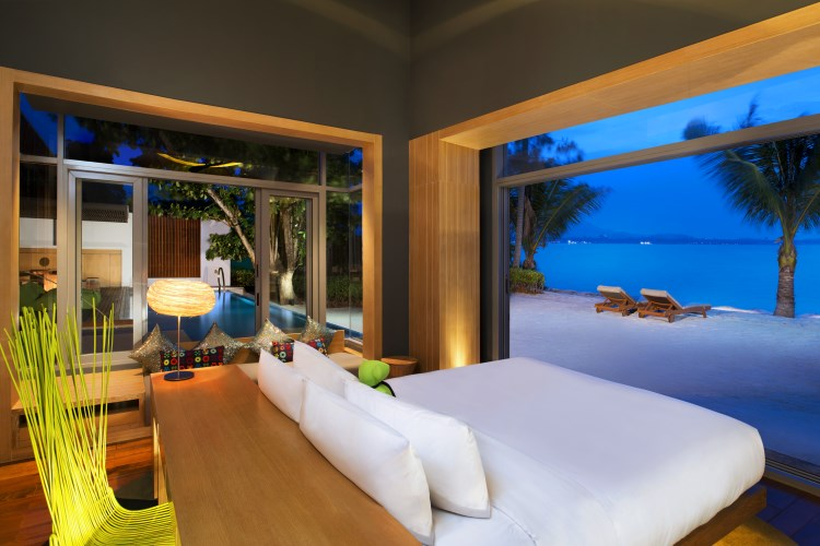 W Retreat Koh Samui - WOW Ocean Front Haven bedroom