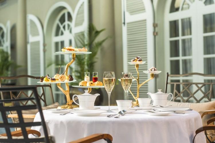 St Regis île Maurice - Le rituel de l'afternoon tea