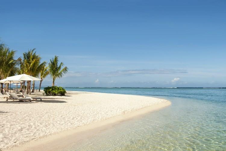 St Regis île Maurice - La plage