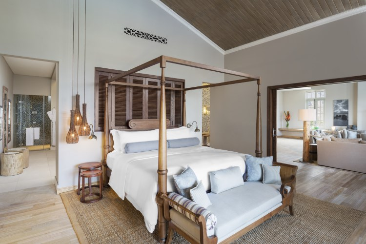 St Regis Mauritius - Grand Manor House Suite - Bedroom