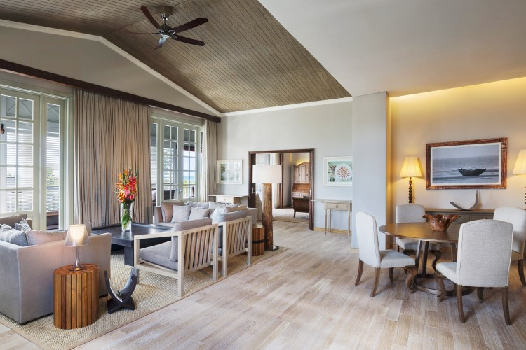 St Regis Mauritius - Grand Manor House Suite - Living Room