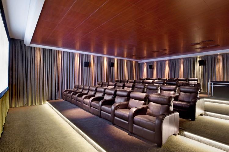 St Regis île Maurice - Le cinéma privé, La Palme d'Or