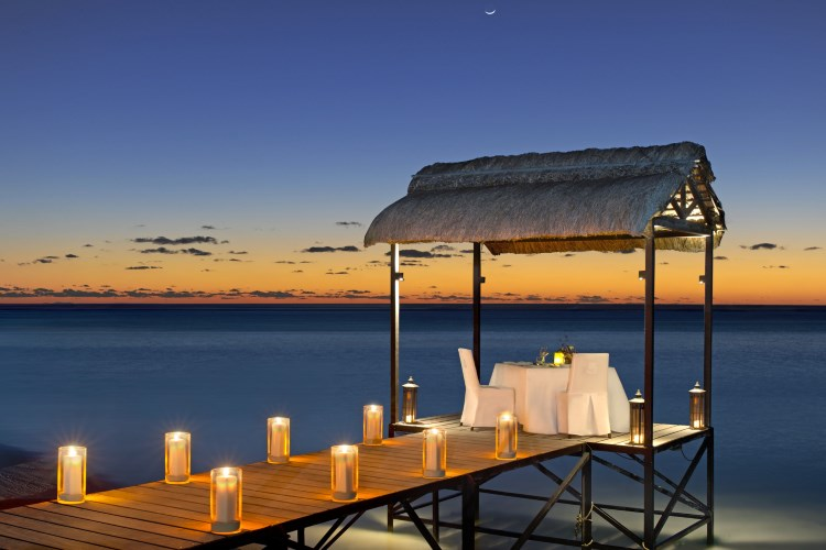 St Regis Mauritius - Private Dining on the Jetty