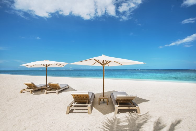 Beach of The St. Regis Mauritius Resort