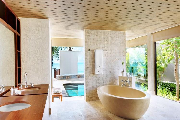 St Regis Mauritius - The St Regis Villa - Bathroom