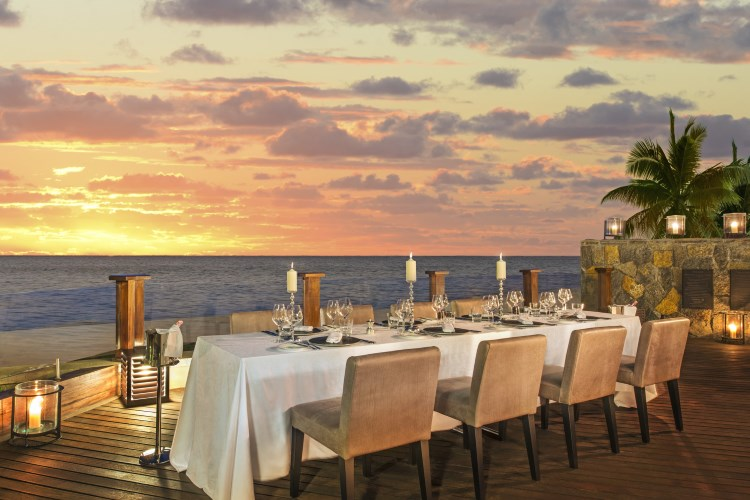 St Regis Mauritius - The St Regis Villa - Dining on the Terrace