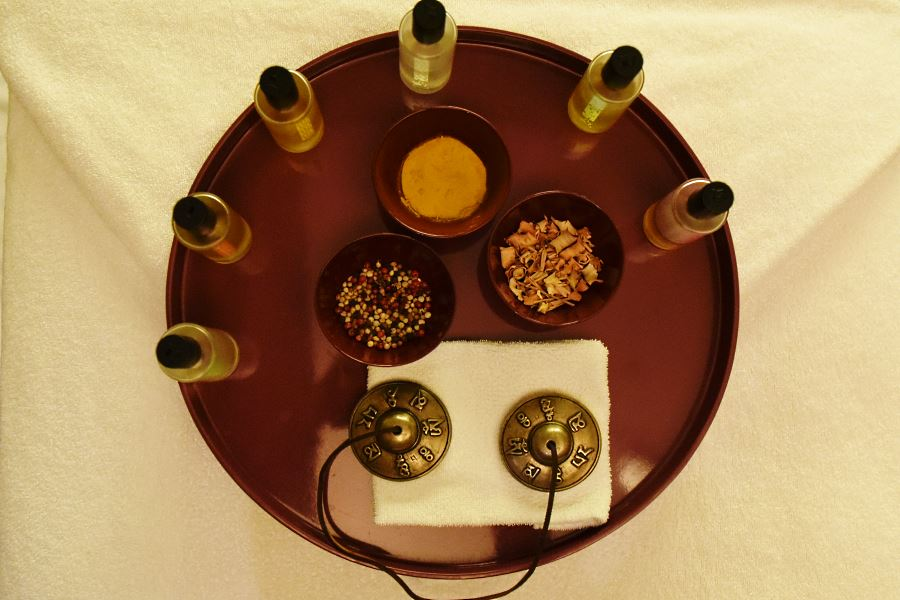 Luxury spa amenities