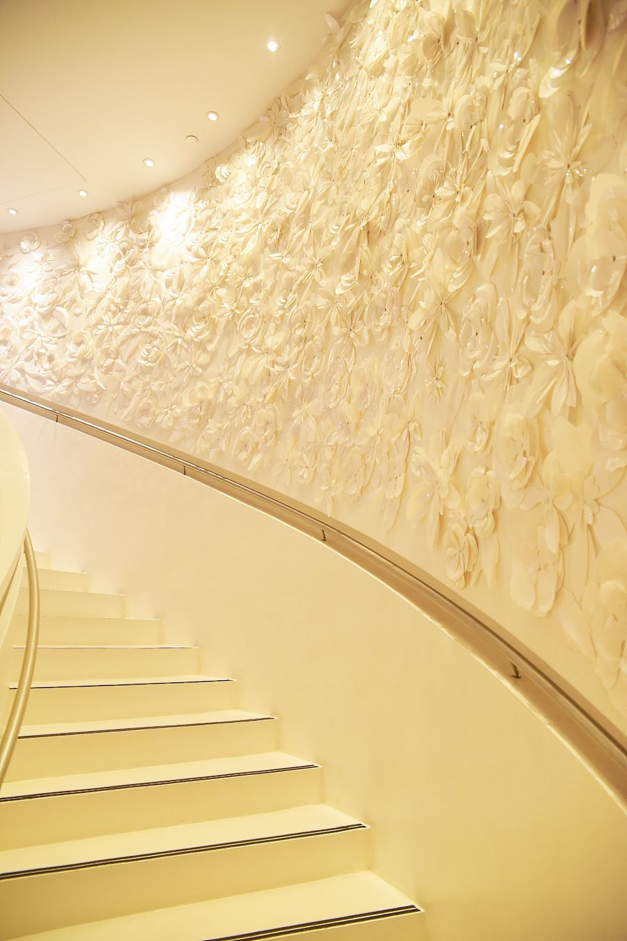 Mandarin Oriental Paris - Spa stairs