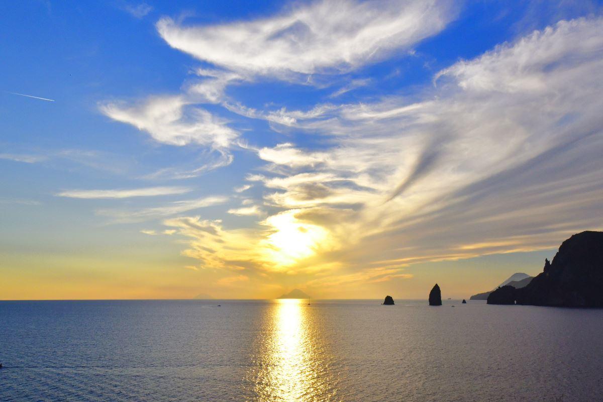 Coucher de soleil Therasia Resort
