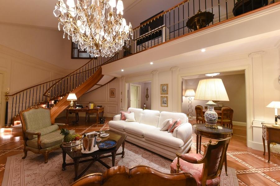 Hôtel Beau Rivage Genève - Suite Céleste - Salon