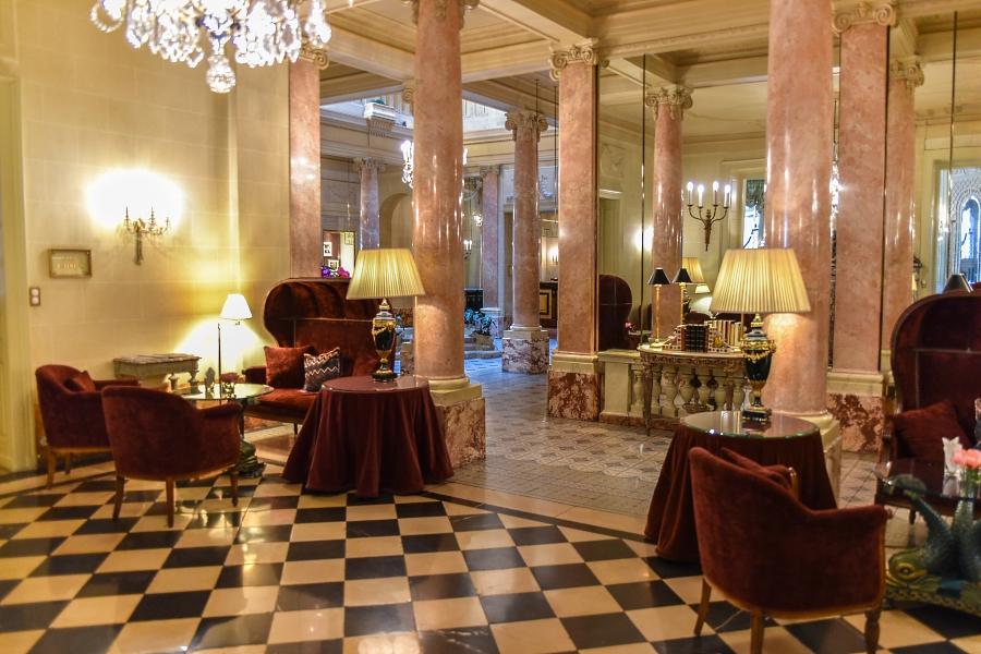 Beau-Rivage Genève - réception
