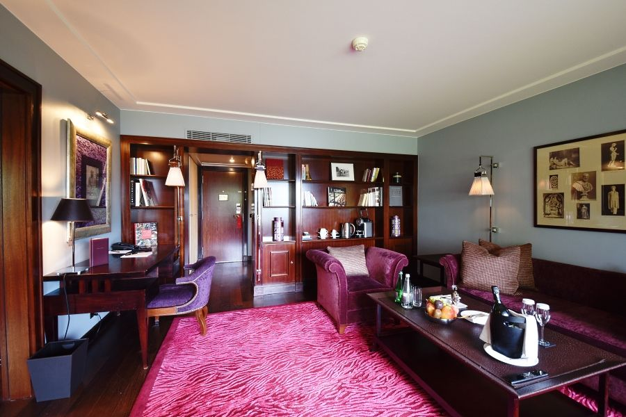 La Reserve Geneva - Lake view suite - Lounge