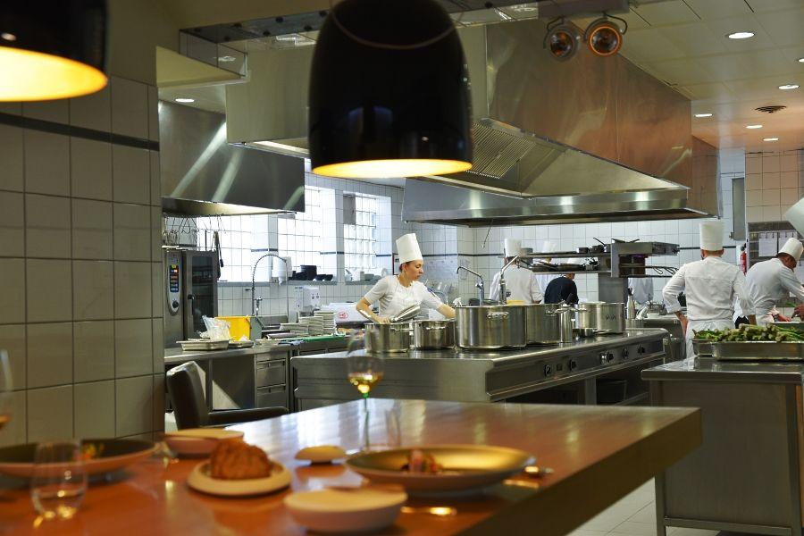 Le Chat Botté Genève - Chef's table