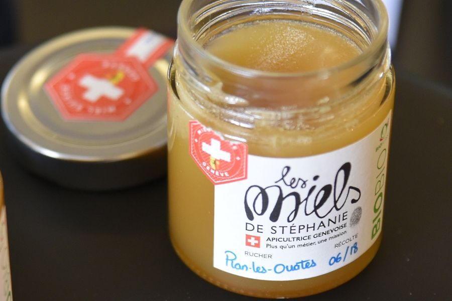 Artisanal Swiss honey