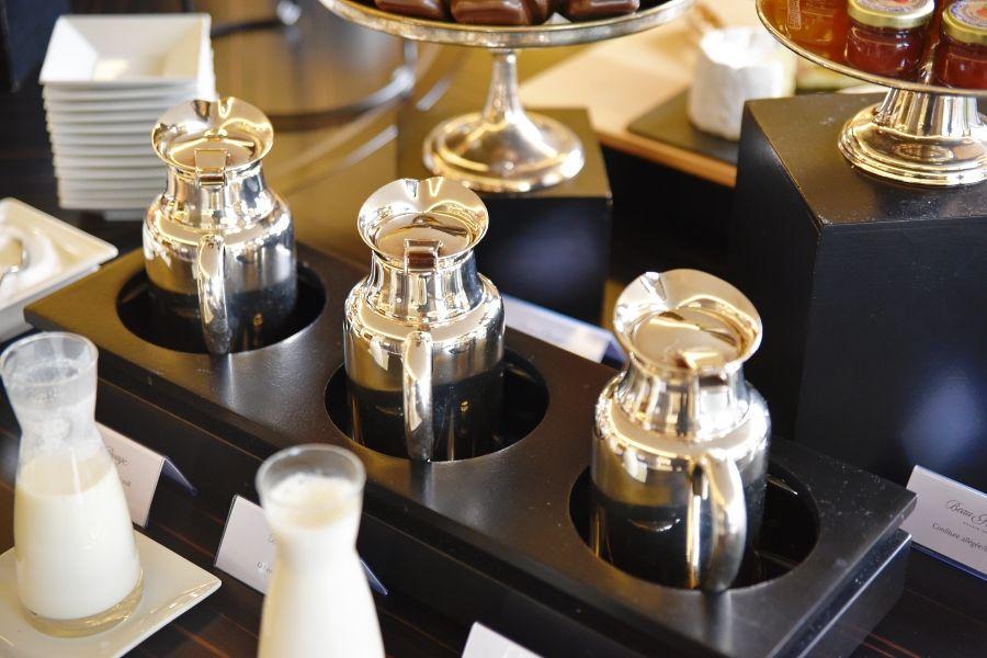 Petit déjeuner à l'hôtel Beau Rivage Genève
